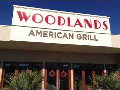 $50 Gift Card to Woodlands American Grill