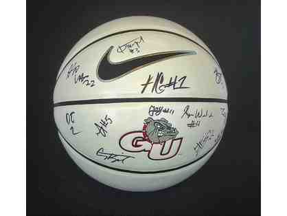 Gonzaga Men's Signed Basketball