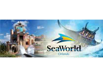 TWO (2) Sea World Tickets - Orlando, FL