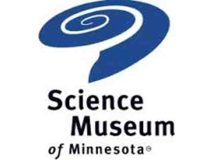 Science Museum of MN- 4 Combo Vouchers: Museum Admission & Omnitheater show