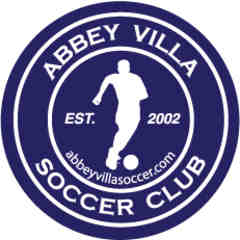 Sponsor: Abbey Villa Soccer Club
