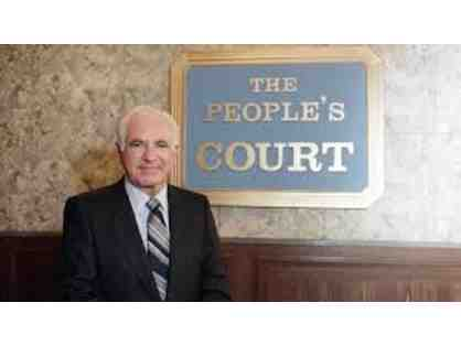 Judge Joseph A. Wapner Robe from The Peoples Court
