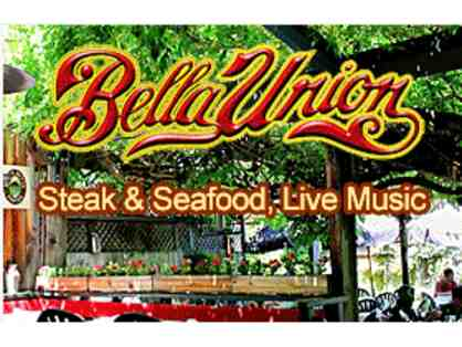 $25 Gift Certificate to Bella Union