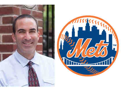 Mets Game for 5 With Principal Tony Fisher
