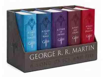 A Game Of Thrones Leather-Cloth Boxed Set (Song Of Ice And Fire Series)