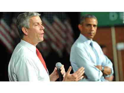 Lunch with Arne Duncan '87, Former Secretary of Education