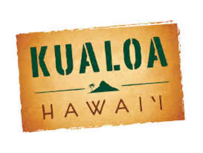 Gift Certificate for 2 for any Kualoa Experience Tour