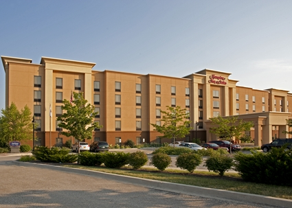 1 night stay at hampton inn suites bloomington normal in for Mitsubishi motors bloomington il