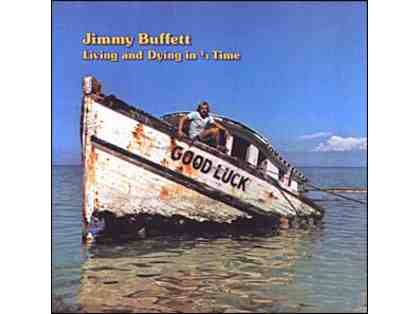 Autographed Jimmy Buffett Record Album