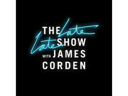 Four (4) Tickets to see a live taping of the Late Late Show with James Corden