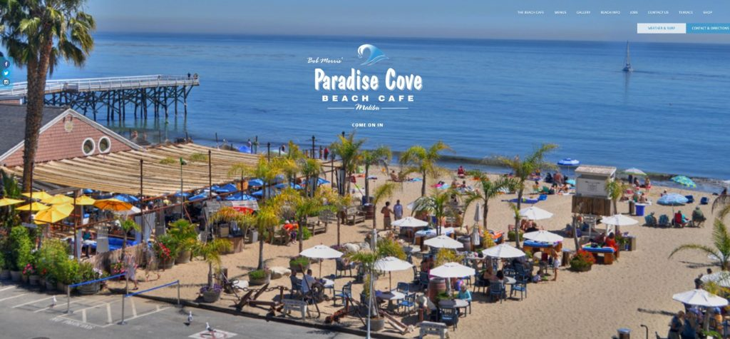 100 Gift Card To Paradise Cove Beach Cafe