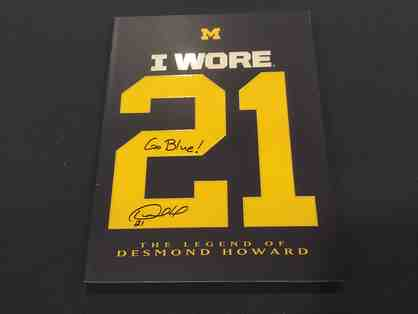 "'I Wore 21"" autographed book - Buy Now $95"