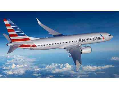Two Round-Trip, First Class American Airlines Tickets!