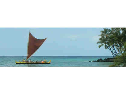 2 Spaces on Double-Hulled Sailing Canoe Cruise