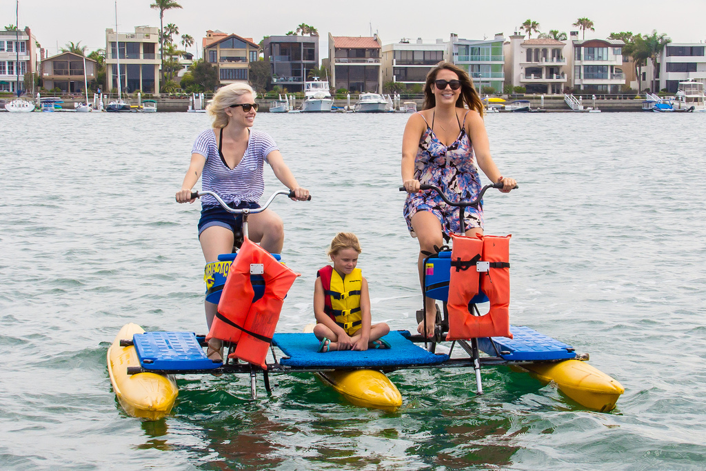 Long Beach Waterbikes 2 Day Ride Tickets