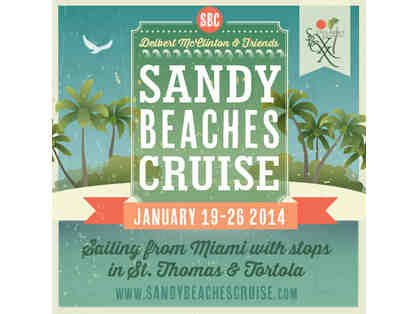 Cruise: Miami to St. Thomas & Tortola in an Ocean View Cabin for 2 w/ Paul Thorn, and More