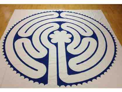 Heart of Chartres canvas labyrinth