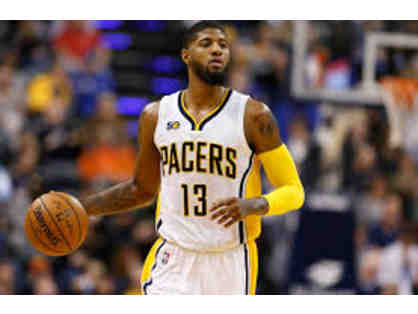 Paul George Indiana Pacers Home Autographed Jersey (P)