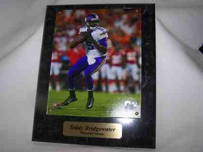 Teddy Bridgewater Plaque