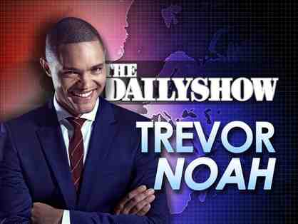 Two (2) VIP tickets to a taping of The Daily Show with Trevor Noah