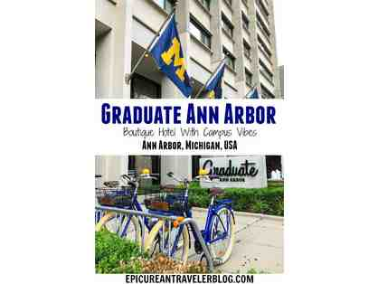 Graduate Hotel Ann Arbor and 4 tickets to the Michigan Football Game