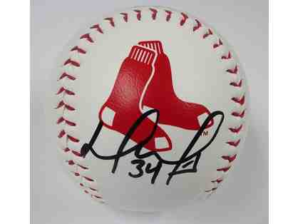 David Ortiz Boston Red Sox Autographed Baseball