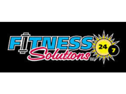 3 month membership to Fitness Solutions 24/7