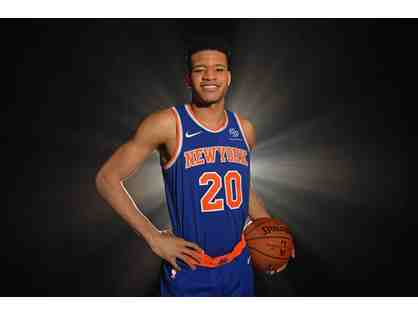 Autographed New York Knicks Kevin Knox Jersey
