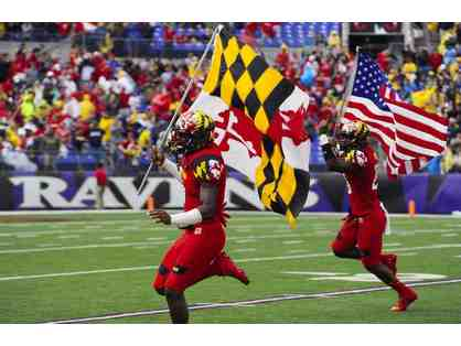 4 Univ. of Maryland Football Tickets vs. MN Golden Gophers 10/15/2016