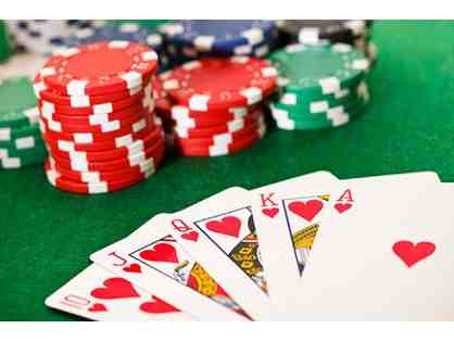 2nd Annual MR Poker Tournament - Open to Alumni Parents & Guests!