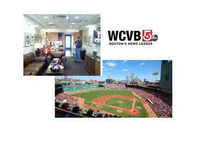 TWO tickets to the WCVB SKYBOX AT FENWAY PARK JUNE 26 1:05 PM VS WHITE SOX