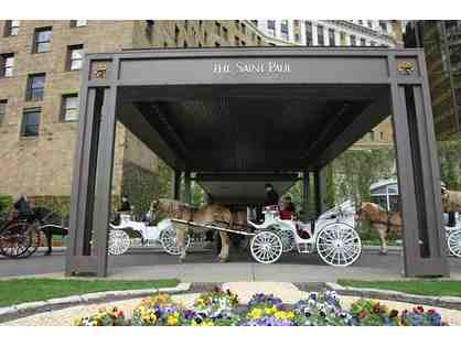 A night at the St. Paul Hotel, $50 to Commodore Bar and Tin Whiskers Brewing Company Beer