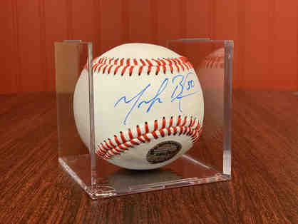 Mookie Betts Autographed Baseball - Authentic