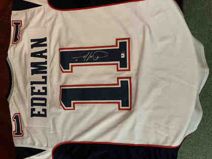 Julian Edelman Autographed Jersey - Authentic