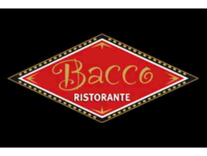 Bacco Ristorante -- Dinner for Two