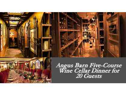 Angus Barn Wine Cellar Dinner for 20