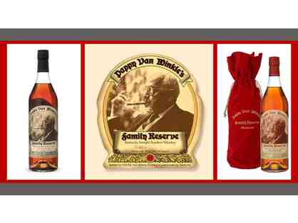 Pappy Van Winkle 20 year and 15 year RAFFLE