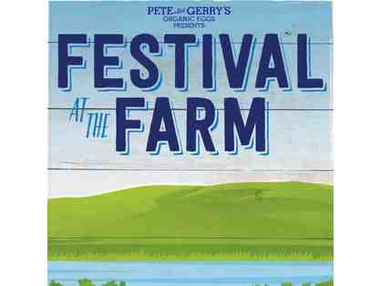Festival at the Farm - Two VIP Passes