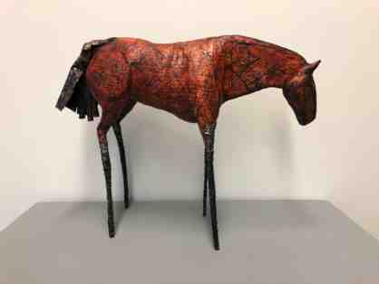 Horse, Suzanne Grey (Mixed Media Sculpture)