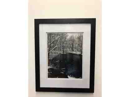 "Mother Brook: April Snow, James Walker (Photograph, 11"" x14"")"