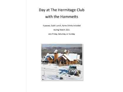 Experience the Hermitage Club in Wilmington Vermont with the Hammett Family