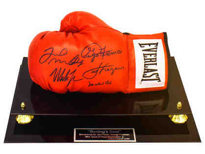 """Boxing's Best"" - Boxing Glove - (5 Autographs)"