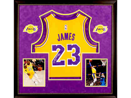LeBron James - Autographed LA Lakers Jersey