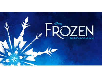 TWO (2) FROZEN Broadway Musical Tickets & BACKSTAGE TOUR