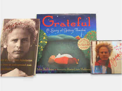 Art Garfunkel signed Books and CD Package