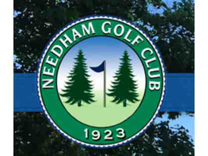 Needham Golf Club Foursome Certificate, 18 holes with 2 Carts!