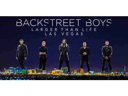 The Backstreet Boys: Pair of tickets with Meet and Greet