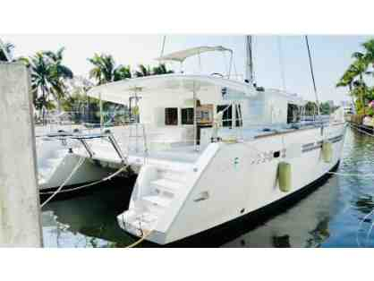 Private 45Ft. Catamaran Cruise for a Party of 10! Cruise date: August 17th, 2021
