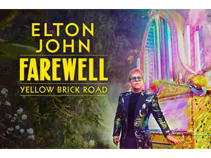 'Farewell Yellow Brick Road' Concert Tickets + Stay at the Four Seasons Hotel