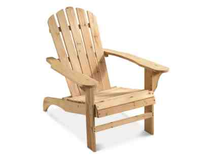 Pair of Handcrafted Adirondack Chairs